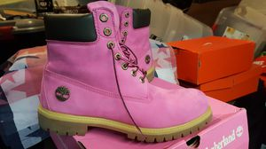 Mens Timberland Boots Pink Susan G Komens Breast Cancer Awareness Size 11 for Sale in Silver Spring, MD