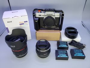 Fujifilm x-t20 w/lenses >READ< for Sale in Glendale Heights, IL