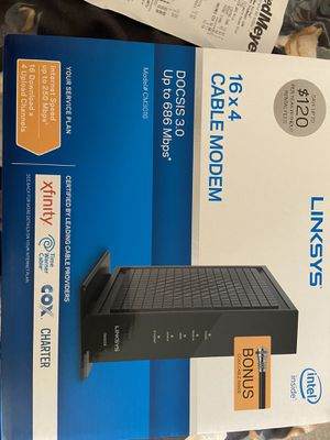 Linksys Cable Modem for Sale in Vancouver, WA