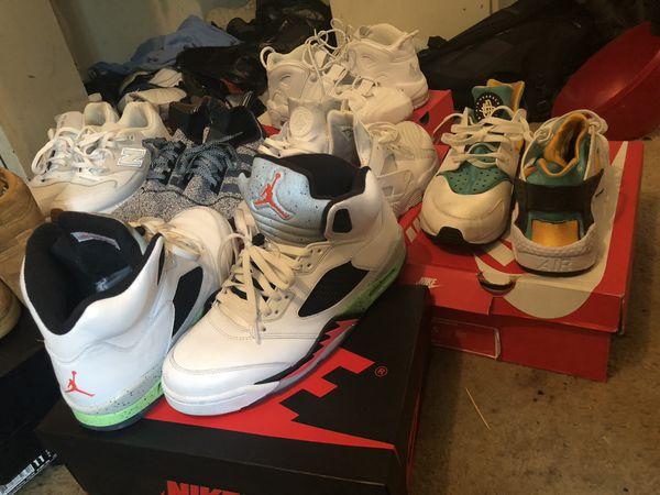 Jordan's, Nike's, and New Balances