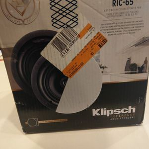 Klipsch RIC-65 In-ceiling Speaker (Brand New) for Sale in Surprise, AZ