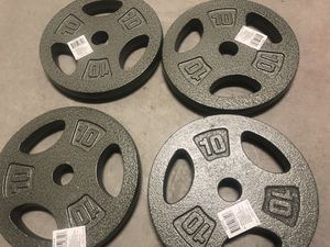 "1"" Barbell Weight Plates for Sale in Las Vegas, NV"