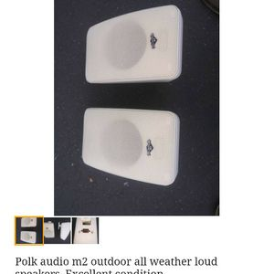 Polk Indoor / Outdoor Speakers for Sale in Livermore, CA