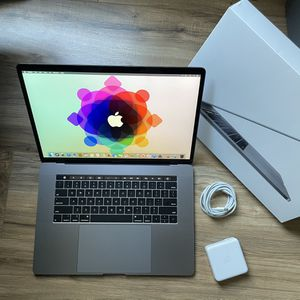 """FAST 512GB SSD i7 15"""" MacBook Pro Touch Bar 2.7GHz Quad Core High performance like 19 and 2020 16"""" for Sale in Los Angeles, CA"""