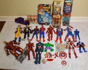 Marvel Toys - Big Lot - Iron Man, Thor, Capt America, Spiderman etc for Sale in Riverview, FL