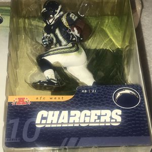 Ladainian Tomlinson Sports Figure McFarlane TOYs San Diego Chargers 10 J2 for Sale in Fairfield, CT