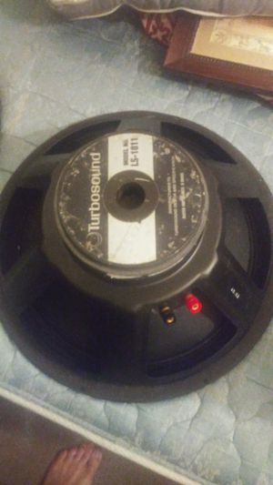 "Turbosound 18"" woofer pro audio LS1811 for Sale in Las Vegas, NV"