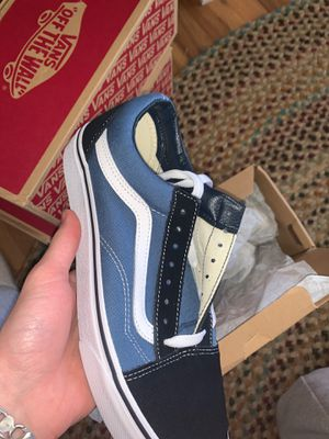 Vans Old Skool Navy size 9 for Sale in Warwick, PA