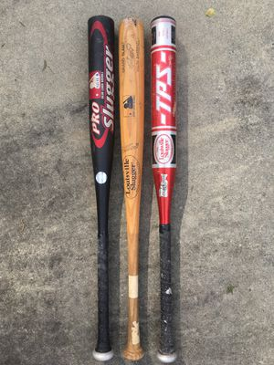 Louisville Slugger baseball bats for Sale in Tucker, GA