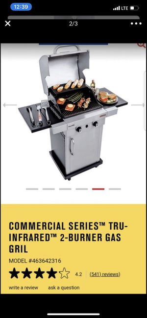 BRAND NEW BBQ grill New char broil commercial series for Sale in Tacoma, WA