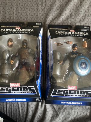 Marvel legends captain America winter soldier series for Sale in Los Angeles, CA