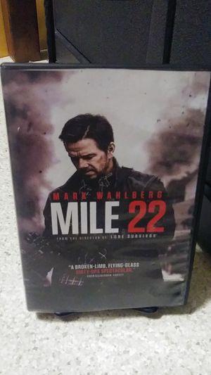 Mile 22 dvd for Sale in Yakima, WA