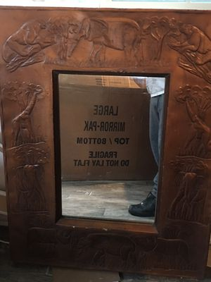 Antique wooden mirror for Sale in San Fernando, CA