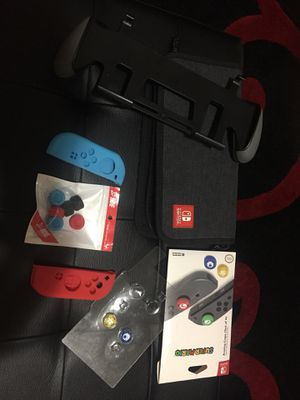 Nintendo switch accessories for Sale in Seattle, WA