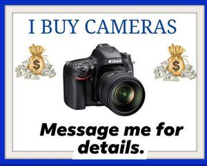 Canon, Nikon , Sony Camera for Sale in Atlanta, GA