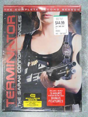 Terminator The Sarah Connor Chronicles Second Season 2 Steelbook New for Sale in San Fernando, CA