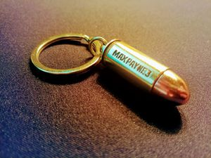 Max Payne 3 Collectors Edition Bullet Keychain for Sale in Plano, TX