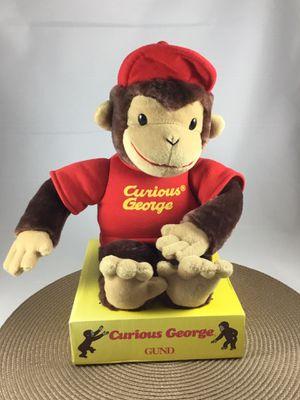 New GUND Curious George stuffed animal - $13 for Sale in Chesapeake, VA