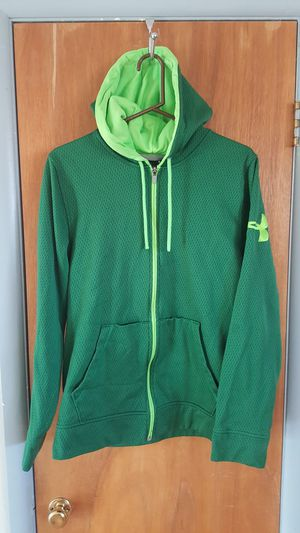 UNDER ARMOUR Zipper Front Hooded Jacket - Medium for Sale in Boulder, CO