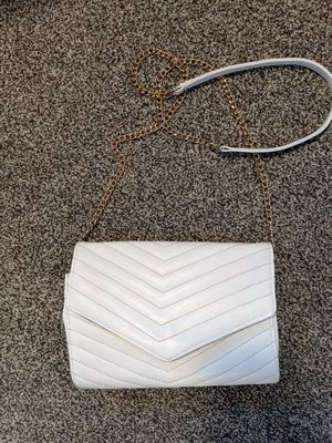 White and gold bag for Sale in Pasco, WA