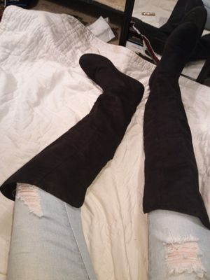 Suede Thigh High Boots size 6.5 for Sale in The Colony, TX