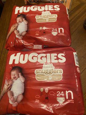 Newborn size diapers (please read description) for Sale in Portland, OR