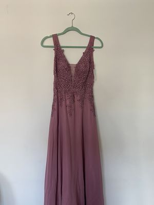 Pink prom Junior dress from Blondie size 1 for Sale in Queens, NY