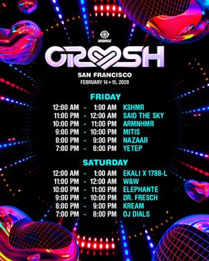 1 DAY 2 CRUSH SF GA TICKET FOR SALE for Sale in South San Francisco, CA