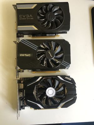 5x 1060 GPU 3gb for Sale in Vallejo, CA