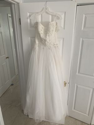 David's Bridal Wedding Dress for Sale in Cape Coral, FL