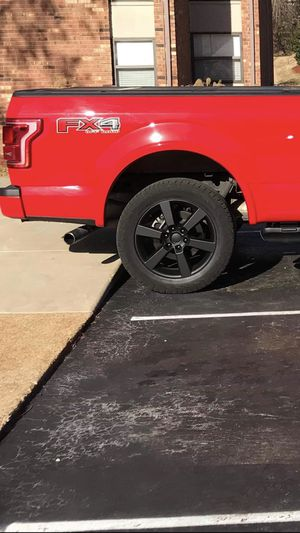 """2015 f150 wheels 20"""" with nitto terra grapler g2 tires for Sale in Ballwin, MO"""