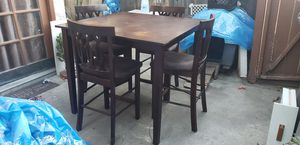 (4) Wooden high chairs for Sale in West Covina, CA