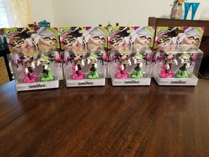 Splatoon Callie Marie Amiibo Nintendo Switch Wii U for Sale in Cocoa, FL