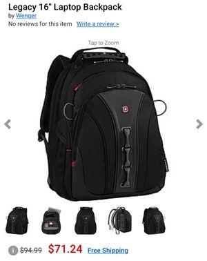 Swissgear laptop backpack for Sale in Vero Beach, FL