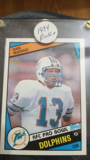 Dan Marino rookie card 1984 topps card123 for Sale in Port Richey, FL