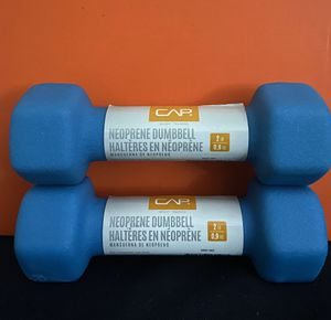 Pair of 2 pound dumbbells for Sale in Brentwood, NC