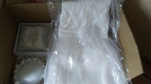 Wedding stuff... Flower girl dresses sz 10 and sz 8 for Sale in Columbus, OH
