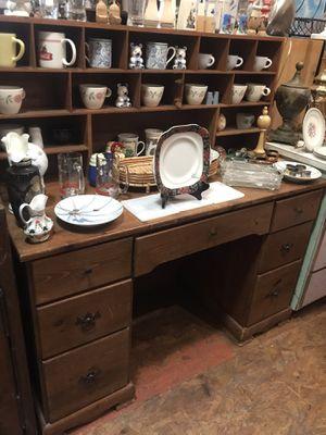 "Soldi wood Desk with cubby storage hutch $50 48 x 20 x 50"" for Sale in San Diego, CA"