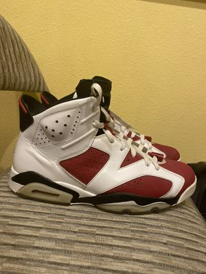 Jordan retro 6 Carmine size 11. Excellent condition for Sale in Kennewick, WA