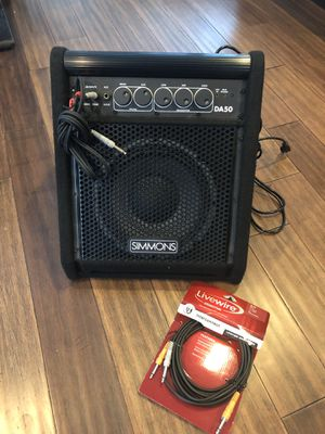 Simmons DA50 Drum Set Monitor Amplifier - Relatively New! for Sale in Alexandria, VA