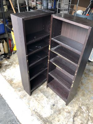 2 bookshelves for Sale in Kent, WA