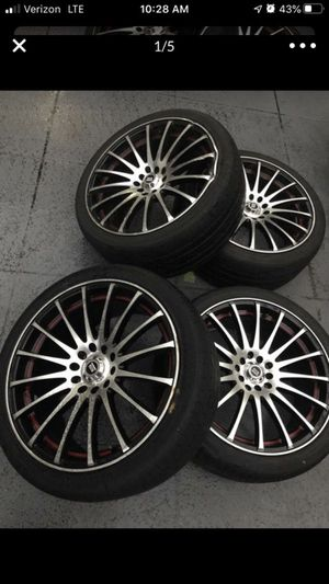 18 inch Spec1 Rims for Sale in West Palm Beach, FL