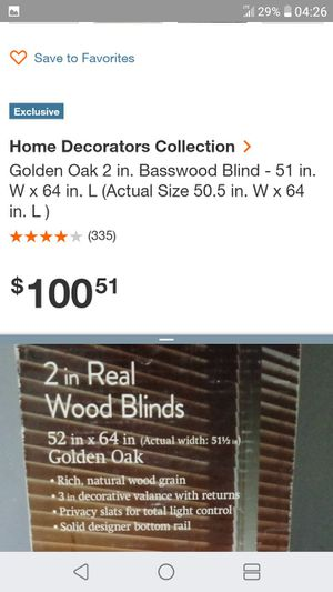 Wood blinds for Sale in Las Vegas, NV