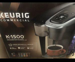 Keurig K1500 Single Serve Commercial Coffee Maker-Black for Sale in Wilmington, CA