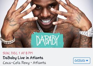 DaBaby Live Atlanta Ga for Sale in Covington, GA