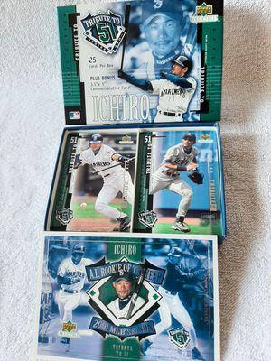 Ichiro 25 Cards Set Plus Bonus for Sale in Kissimmee, FL