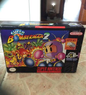 """Like NEW"" SNS Super Bomberman 2 for Sale in St. Louis, MO"