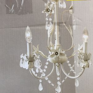 NEW small white chandelier for Sale in Littleton, CO