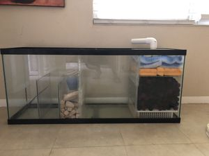 55 gallon aquarium filter for Sale in Tampa, FL