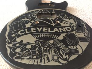 Laser Engraved Epiphone LP style Guitar Body for Sale in Westlake, OH